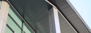 husk architectural aluminium soffits hammersmith academy
