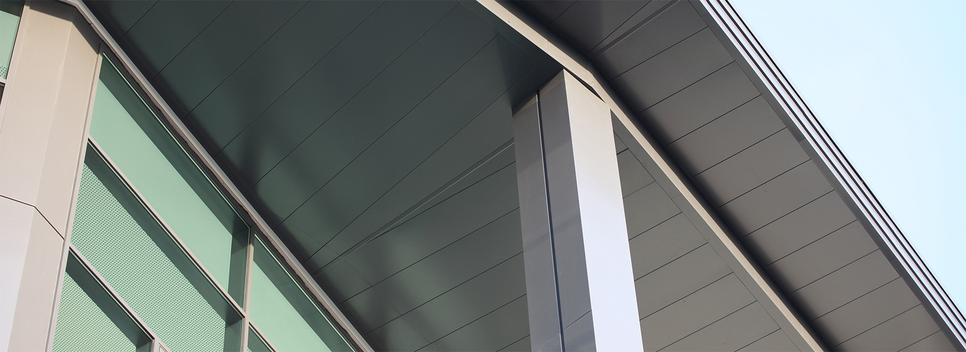 husk architectural aluminium soffits hammersmith academy
