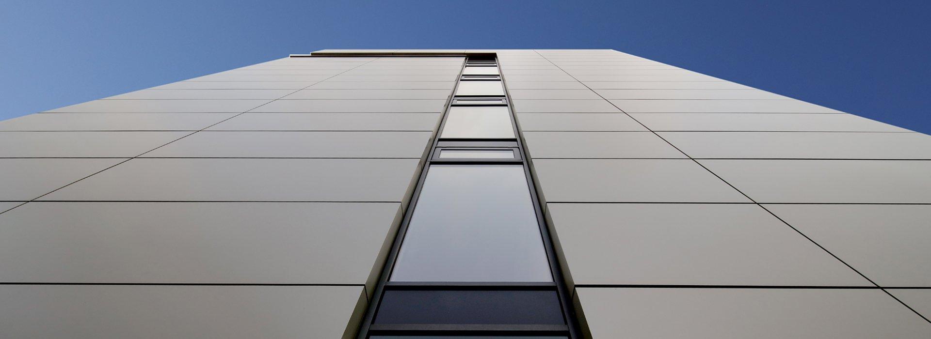 rainscreen cladding aluminium fascia facade