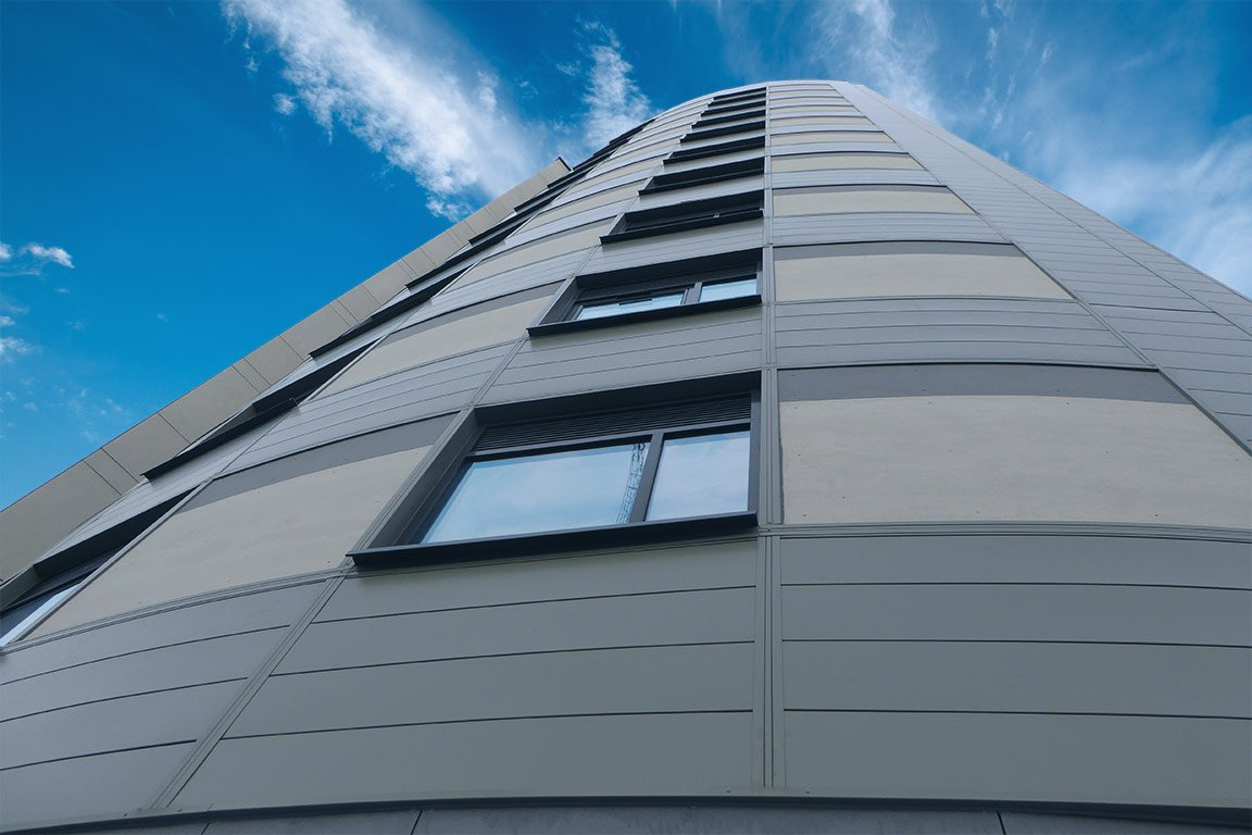 arrowhead aluminium cladding panels plymouth university