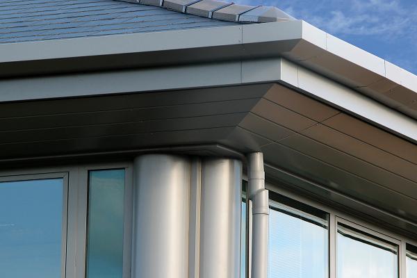 aluminium fascias roof cladding roofline
