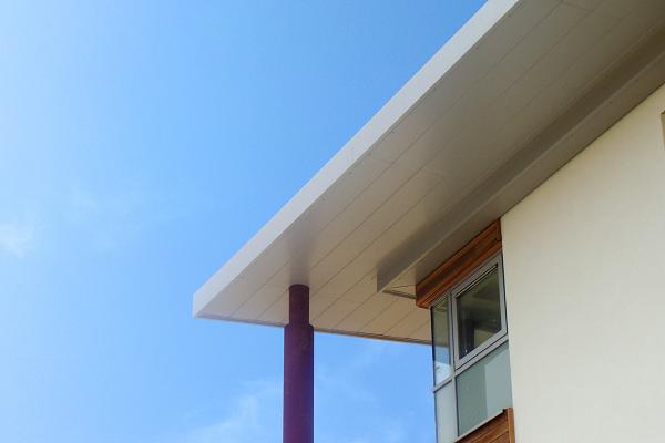 husk aluminium soffit plank system