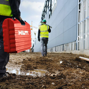 carrier systems facade cladding, hilti bracket fittings