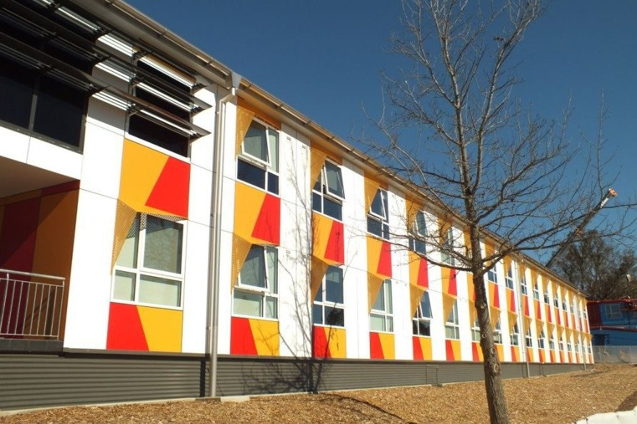Fibre Cement Ceramapanel Cladding, available from Husk Architectural