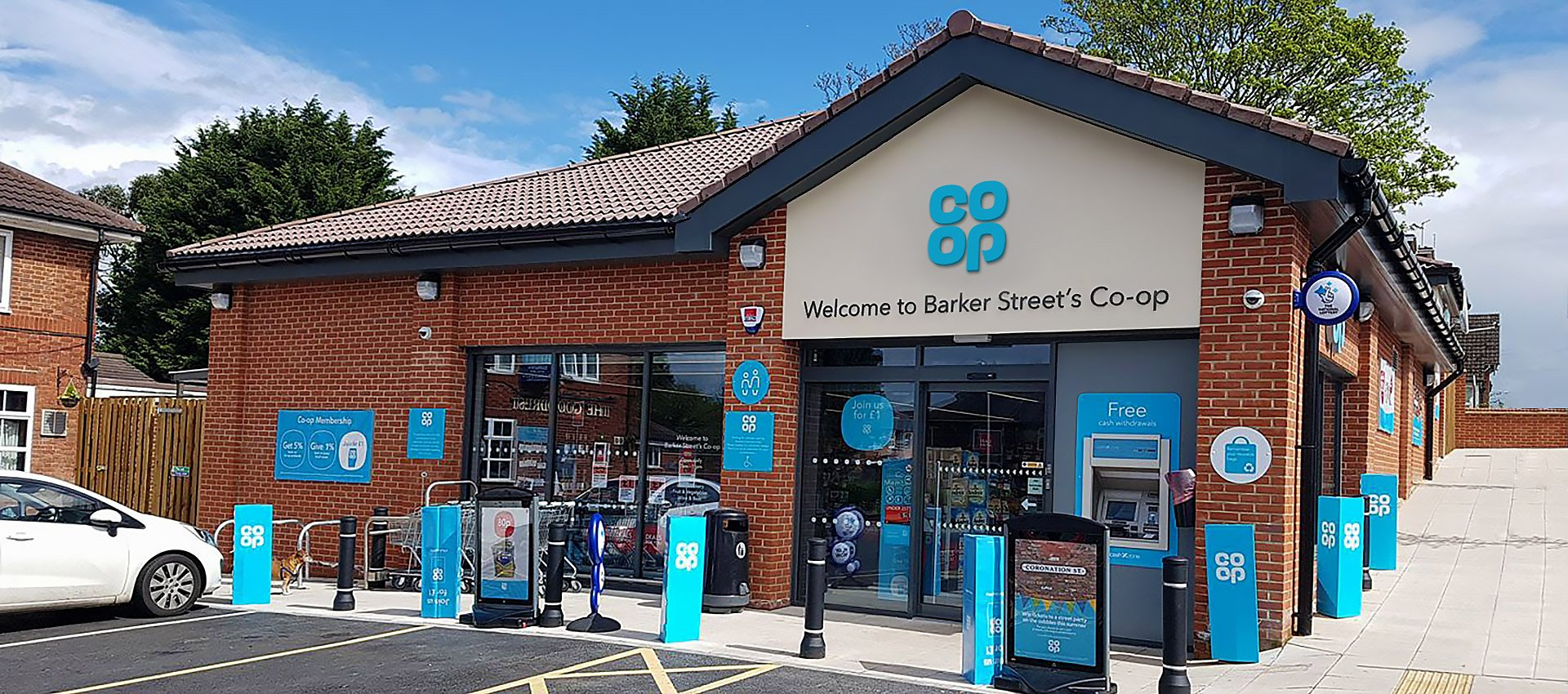 husk architectural facias and soffits chosen for coop barking worcester