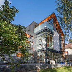 husk architecture aluminium rainscreen residential cladding