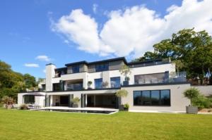 parapet balcony walls aluminium fascia soffit coping husk architectural