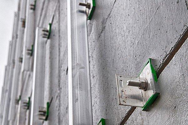 husk architecture rainscreen nvelope carrier system bracket rails