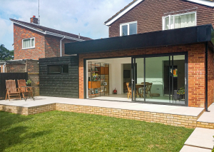husk fascia cladding on residential property's conservatory