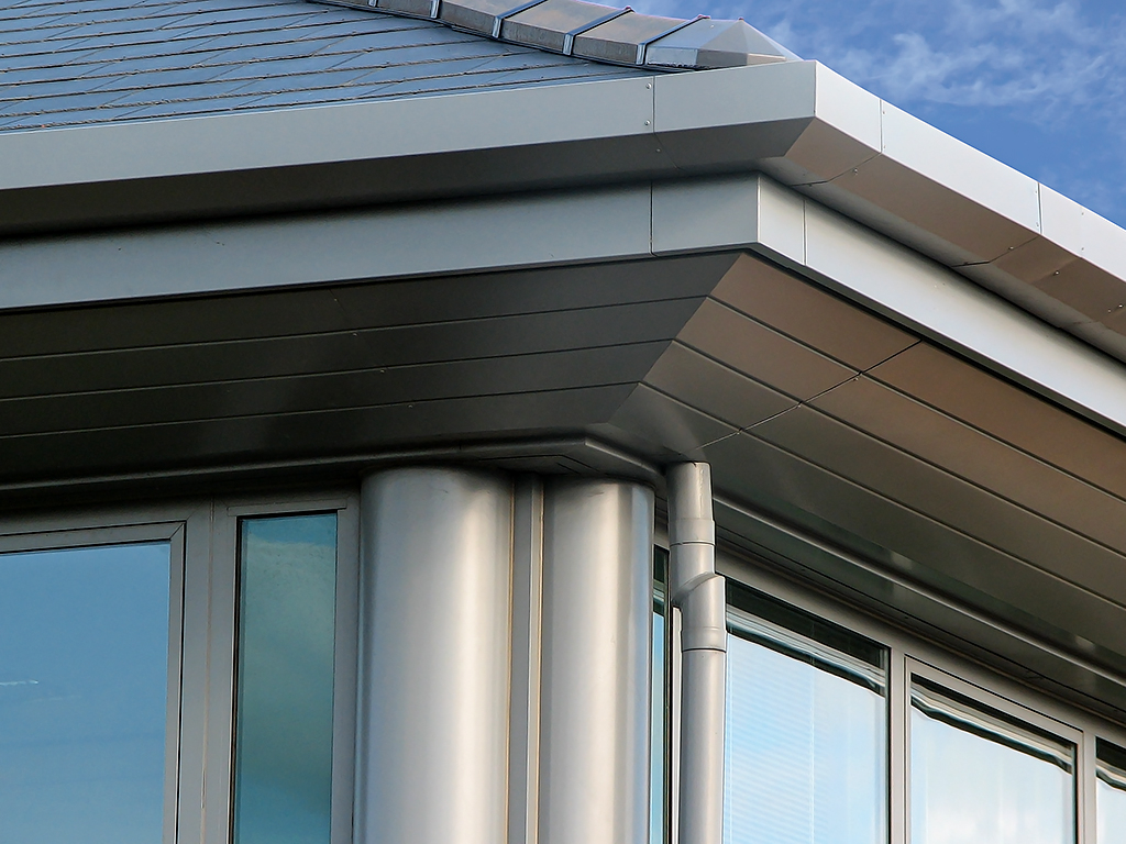 husk architectural aluminium soffits shrewsbury business park