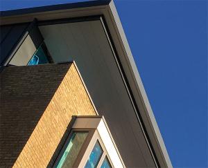 husk aluminium soffit fascia combined eaves cladding