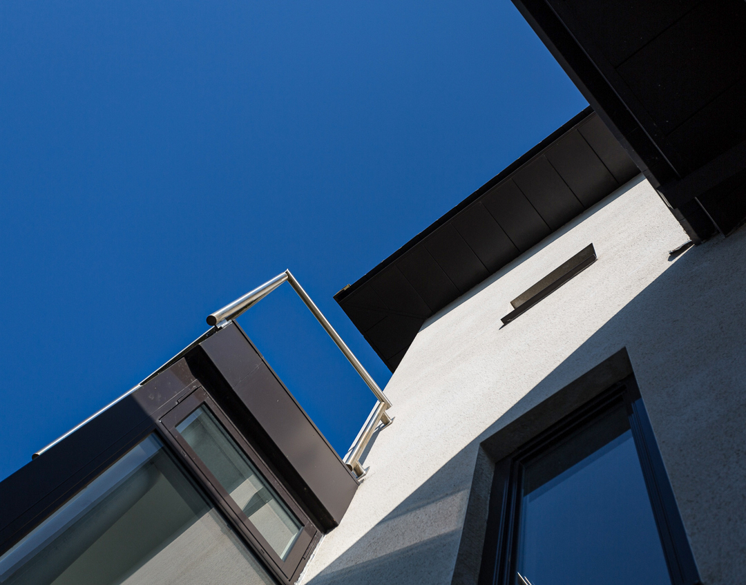 husk architectural aluminium fascias and soffits cefn coed