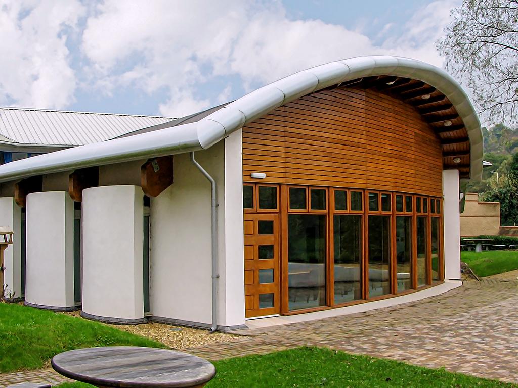 husk aluminium bullnose curved fascia qed centre
